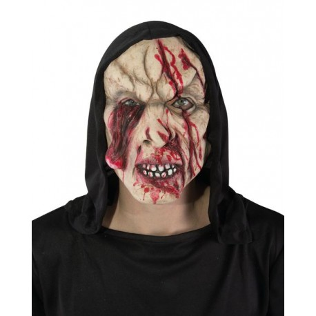 Déguisement Masque Zombie Cagoule Adulte - Costume Masque The Duck