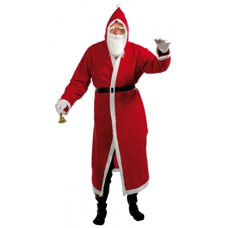 Déguisement de Père-Noël à Capuche Feutrine Homme - Costume Noel The Duck