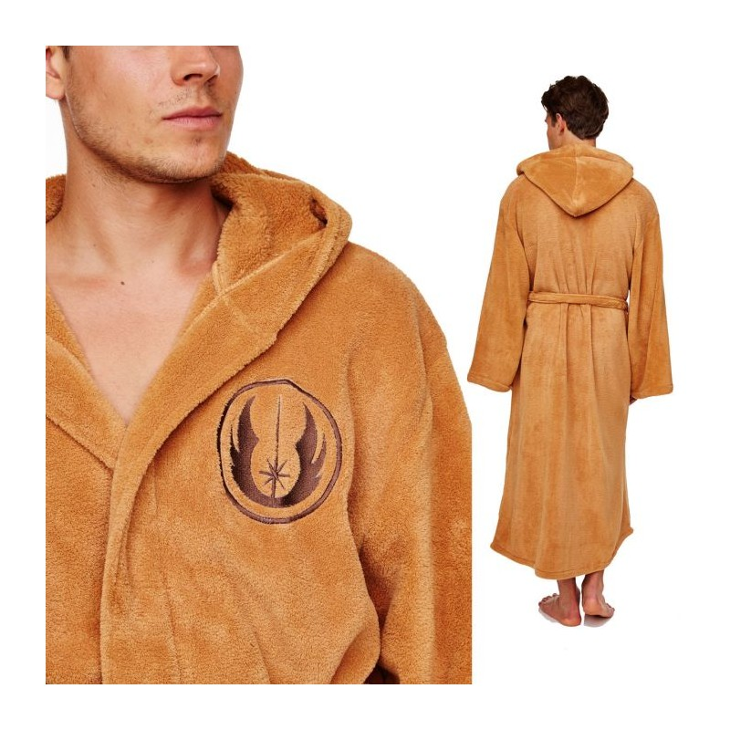 Peignoir de jedi star wars simple peignoirs ponchos for Tablier de cuisine star wars