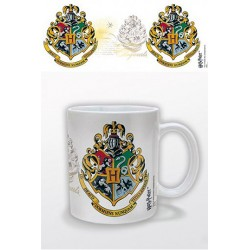 Objet Geek Mug Blason de Poudlard Harry Potter - Cadeau Geek Fun Harry Potter The Duck