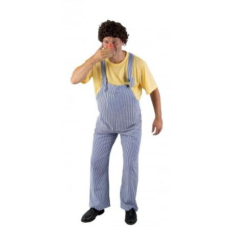 Déguisement Coluche Adulte - Costume Célébrité adulte The Duck