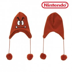 Objet Geek Bonnet Nintendo Goomba Adulte - Cadeau Geek The Duck