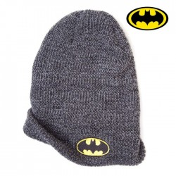 Objet Geek Bonnet Batman Gris Jaune Noir Adulte - Cadeau Geek Bonnet Batman The Duck