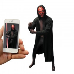 Déguisement Seconde peau Dark Maul Morphsuit ™ Star Wars Adulte - Costume Dark Maul Homme Star Wars The Duck