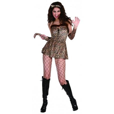 Déguisement Femme Jungle Préhistoire - Costume Préhistoire femme The Duck