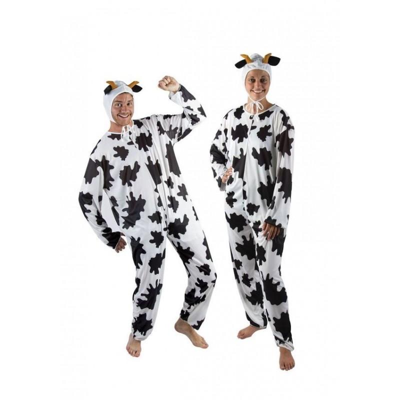 d guisement de vache noir blanc adulte costumes animaux sur the. Black Bedroom Furniture Sets. Home Design Ideas
