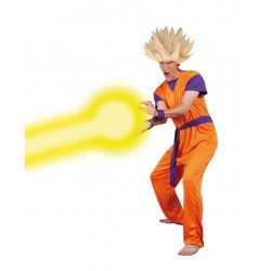 Déguisement Guerrier Dragon Ball Manga Orange Homme - Costume Manga The Duck