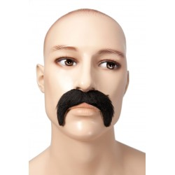Déguisement Moustache Blond Style 1900 Homme - Costume Moustache The Duck