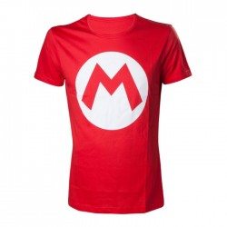 Objet Geek T-Shirt Super Mario Rouge Nintendo Adulte - Cadeau Geek T-Shirt