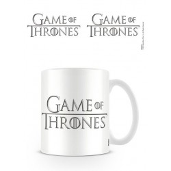 Objet Geek Mug Logo Game of Thrones Blanc - Cadeau Geek Mug The Duck
