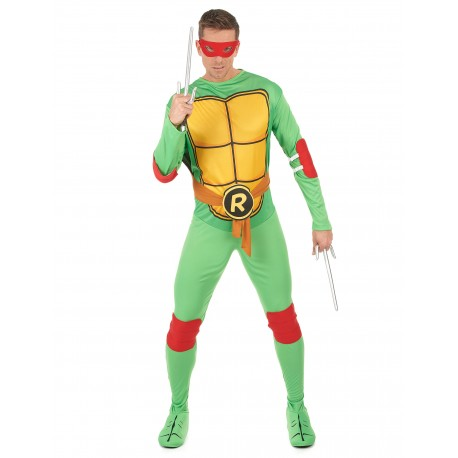 Déguisement Raphaël Tortues Ninja Adulte - Costume Raphaël Adulte Tortues Ninja The Duck