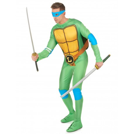 Déguisement Leonardo Tortues Ninja Homme - Costume Tortue Ninja Homme The Duck