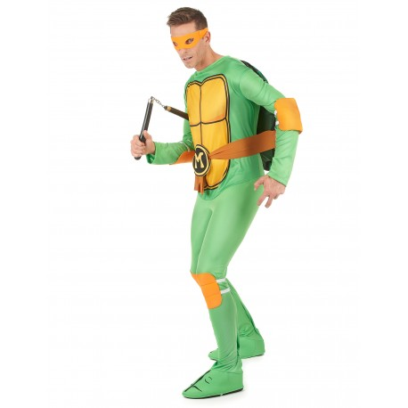 Déguisement Michelangelo Tortues Ninja Homme - Costume Michelangelo Tortues Ninja Homme The Duck