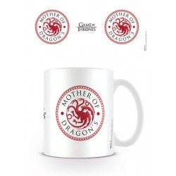 Objet Geek Mug Blanc Game of Thrones Mother of Dragon's - Cadeau Geek Mug The Duck