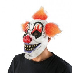 Masque de Clown Tueur Adulte - Déguisement Clown tueur Adulte Halloween The Duck