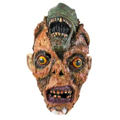 Masque de Monstre Brûlé Adulte - Masque d'Alien Adulte - Déguisement Halloween Adulte