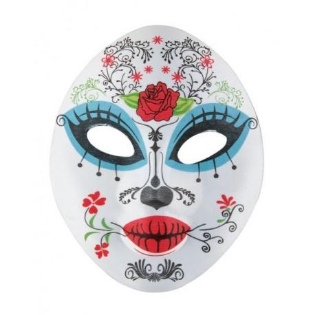 Masque Dia des Los Muertos Femme - Déguisement Dia de los Muertos Adulte