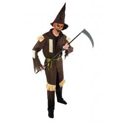 Déguisement d'Epouvantail d'Halloween Adulte