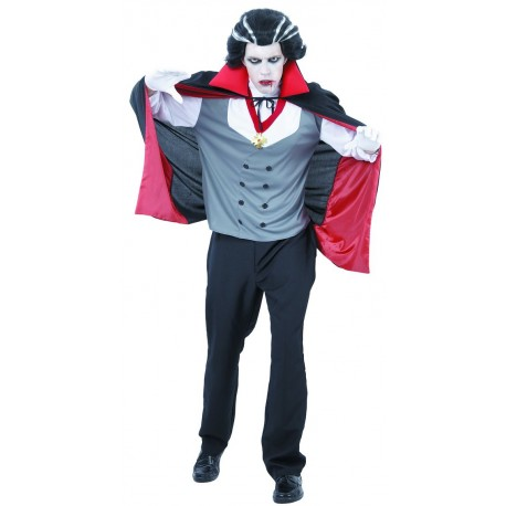 Déguisement de Comte Vampire Adulte - Costume Vampire hallloween The Duck
