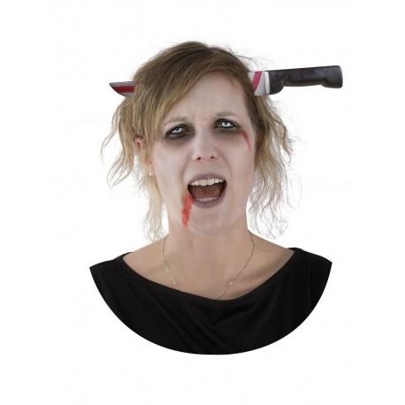 Serre-Tête Couteau Sanglant Adulte - Déguisement Monstre - Costume Halloween The Duck