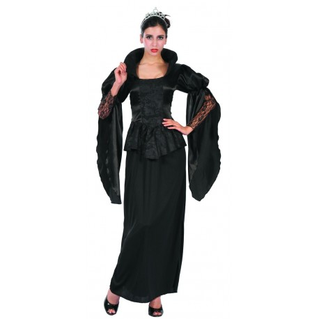 Déguisement de Vampire Noir Femme - Costume Vampire Halloween The Duck
