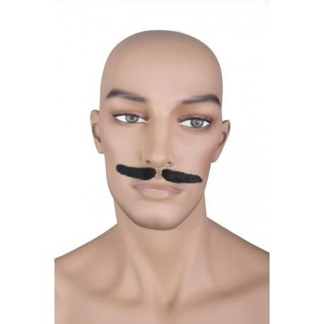 Moustache de Gangster Noire - Costume moustache - Déguisement gangster The Duck