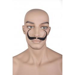 Moustache d'Artiste Noire - Costume Moustache - Déguisement Peintre