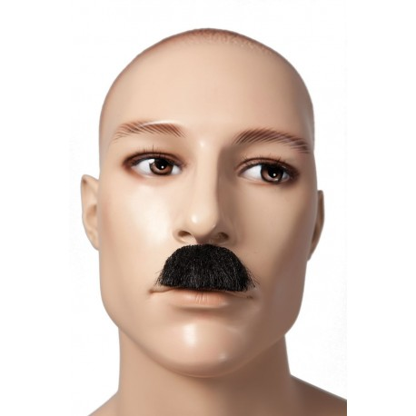 Moustache de Charlie Chaplin - Costume Moustache - Déguisement Film The Duck