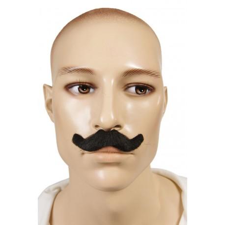 Moustache d'Inspecteur Noir - Costume Moustache - Déguisement Policier