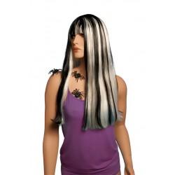 Perruque longue à mèches colorées ALICIA