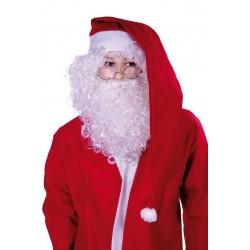 Grand bonnet de Père Noël Rouge avec Pompom Adulte