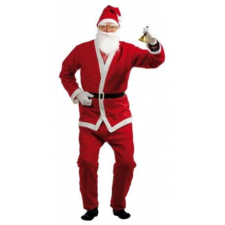 Déguisement de Père Noël Pas Cher Adulte- Costume Père Noel Rouge The Duck
