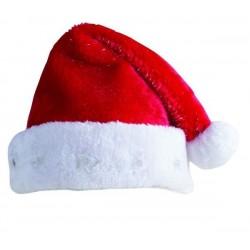 Bonnet de Noël Lumineux avec des filaments argentés Adulte - Déguisement Mère Noel Femme The Duck
