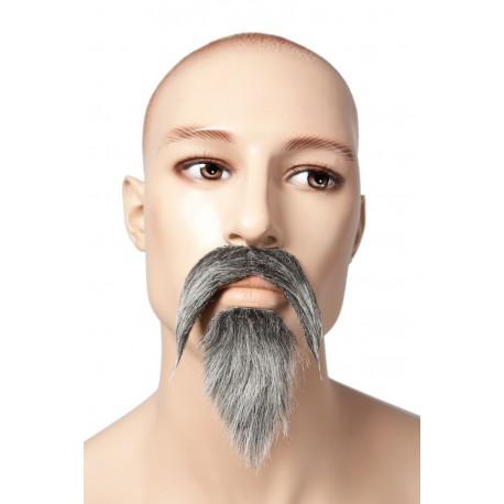 Barbe et moustache de Mandarin Adulte - Costume Chinois - Déguisement Mandarin The Duck