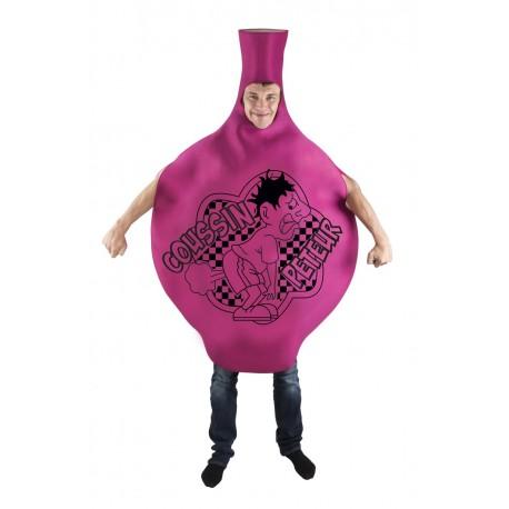 Déguisement de Coussin Péteur Rose Adulte - Costume humour adulte The duck
