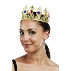 Couronne de Reine metal Dorée Femme Luxe