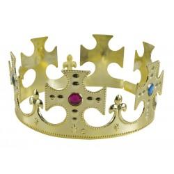 Couronne de Roi Dorée Homme - Costume Roi homme - Déguisement roi homme The Duck