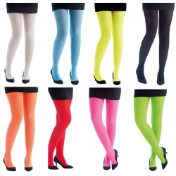 Déguisement Collants Fluo Femme - Costume Collant Fluo - Déguisement Collant Fluo The Duck