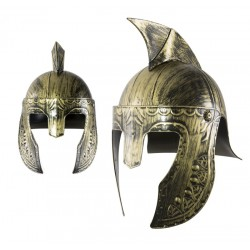 Casque de Gladiateur Adulte or & noir