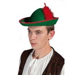 Chapeau bavarois vert adulte - Costume bavarois - Déguisement bavarois The Duck