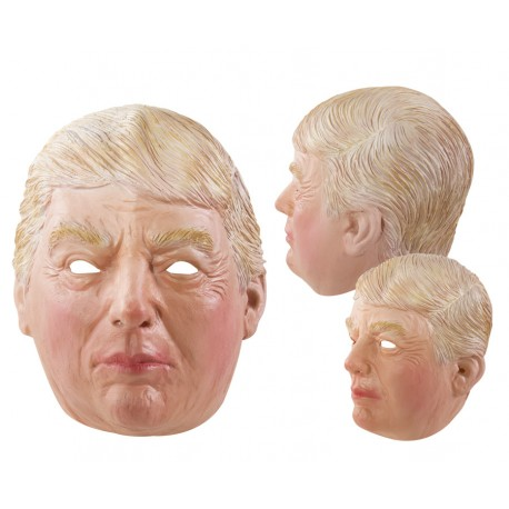 Masque de Donald Trump intégral latex Adulte - Costume donald trump - Déguisement donald trump The Duck