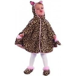 Déguisement de Léopard jaune & marron Baby - Costume léopard enfant animaux The Duck