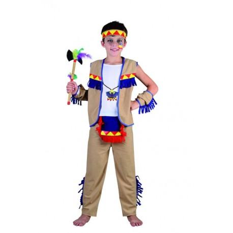 Déguisement d'Indien beige Garçon - Costume western garçon - Déguisement western garçon The Duck