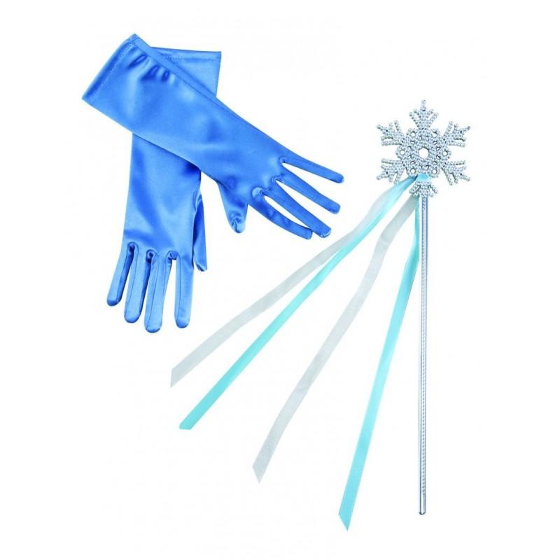 dguisement reine des neige accessoire baguette et gants costume dessin anim the duck - Gants La Reine Des Neiges