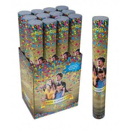Canon à Confettis 40cm - Décoration nouvel an confettis The Duck