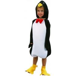 Déguisement de Pingouin blanc & noir Enfant