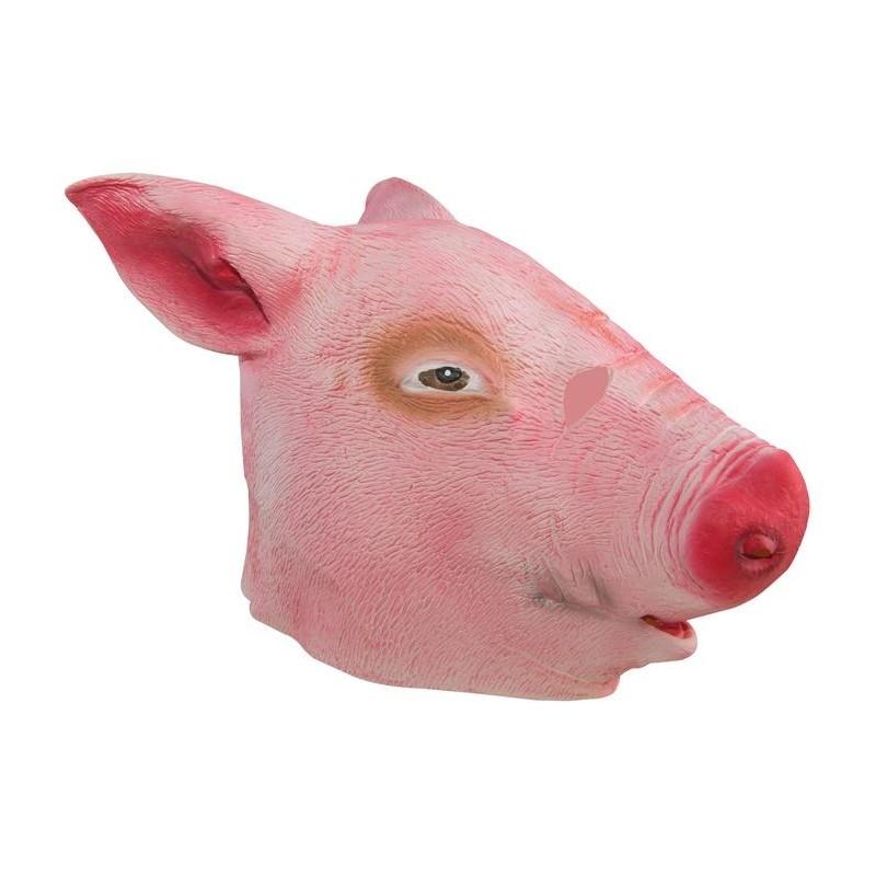 masque de cochon rose adulte masques sur the. Black Bedroom Furniture Sets. Home Design Ideas