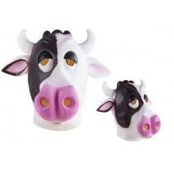 Masque de Vache noir & blanc Adulte