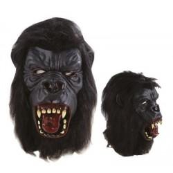 Masque de Gorille noir intégral Adulte