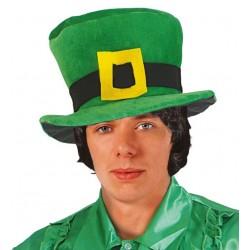 Chapeau haut de forme Saint Patrick velours Adulte - Costume Saint Patrick - Déguisement Saint Patrick The Duck